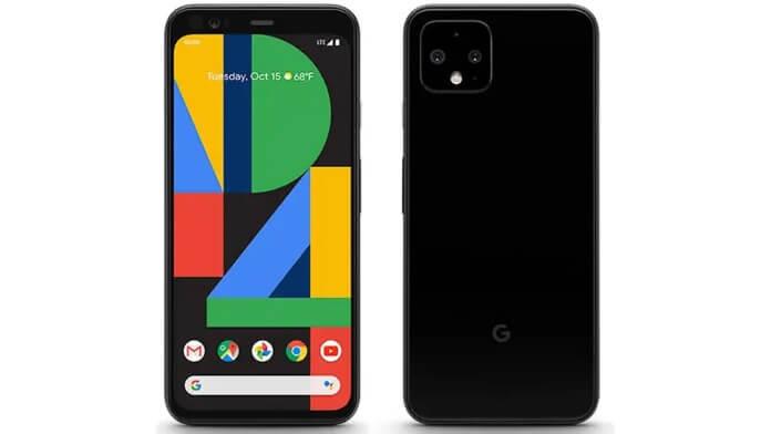 Google Pixel 4 - test audio DxOMark