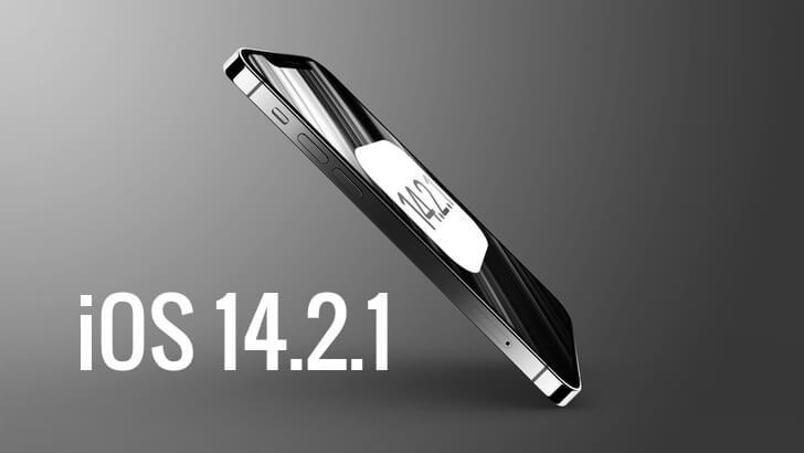 iOS 14.2.1 update iPhone 12